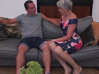 Big sex sexy Sexy granny gets taboo sex from boy