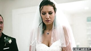 Bride Gets Ass Fucked By Brother Of The Groom Before Wedding