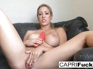Solo hairy movies Capri cavanni shoots a home movie solo with a toy