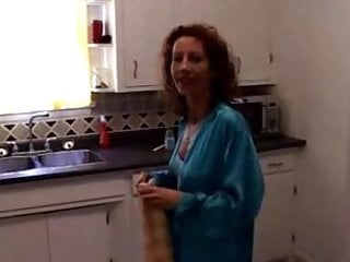 Sex video pornhub - Milf gets fucked in kitchen - mature sex video