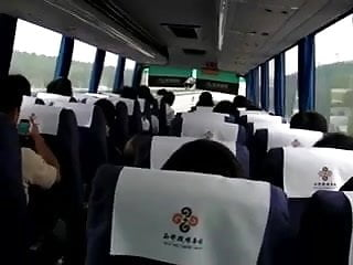 Blowjob on a bus Solo 37 cougar on a bus