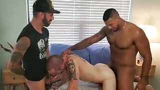 Two Fuckers Share My Ass