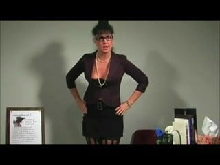Bitchy Mature Teacher Jerkoff Instructions JOI: Porn 6d