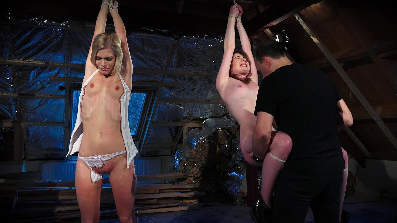 2 Girls Punished Bondage