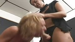veronica rayne strapon anal punish her student