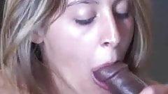 Young slut takes two Black dicks