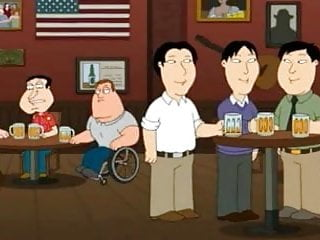 Bad asian jokes Gods small asian penis joke in american cartoon for