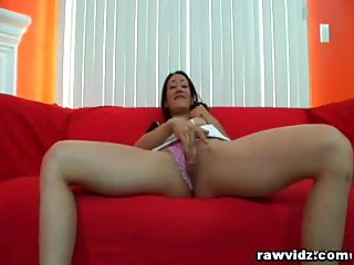 First time having anal sex Brunette hottie enjoys her first time having bbc
