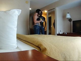 Busy teen moms - Husband set up hidden cam in bedroom before business trip