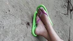 Philippine beach feet 2