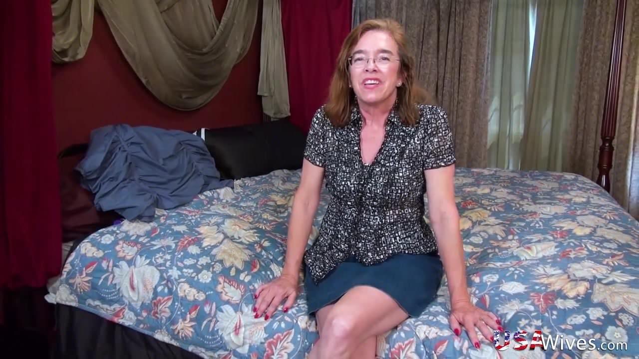 Usawives Grandma Carmen Solo Toys Masturbation: HD Porn 3b