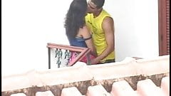 Sri Lankan couple Kandy