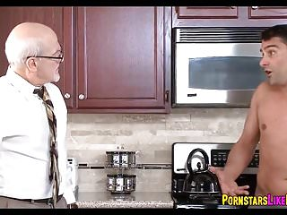 Free cum for dinner videos - Threesome for dinner