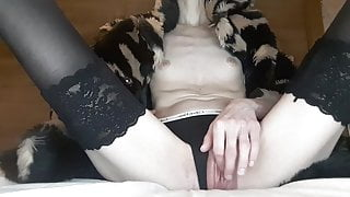 Close up orgasm.