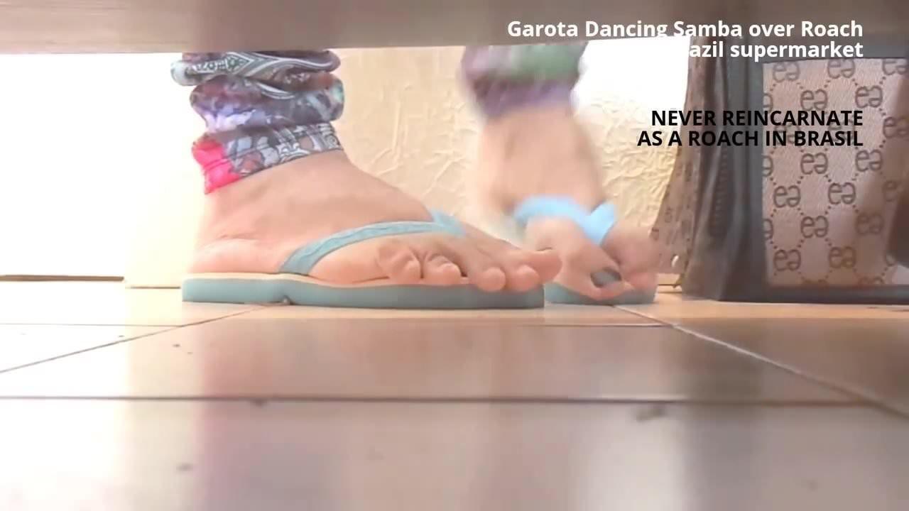 Giantess Tiny Foot Slave