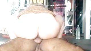HOT ASS FUCKED HARD BY GYM OWNER WITH CLEAR AUDIO