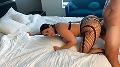 NEW FUCK VIDEO IN MY FISHNETS