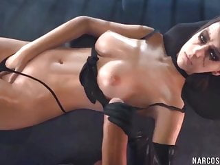 Very large dicks - Naughty 3d babes get pussy railed deeply by large dicks