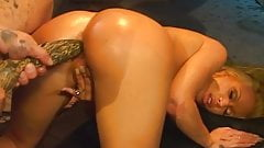 Hot Blonde Fucked By An Alien