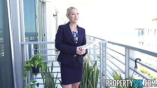 PropertySex - Southern MILF real estate agent gets creampie