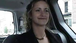Sarah - Her first big cock