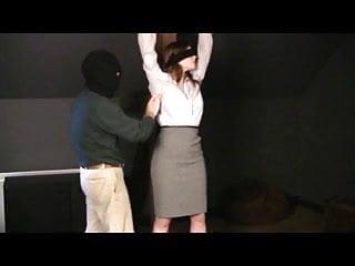 Mature slips utube Hollins tied in slip