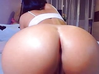 Fat round pussy - Hot big round ass pov doggy tight fat cameltoe pussy lips