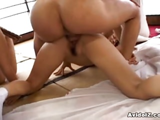 Asian foodstuffs - Japaneses with big boobs fucked uncensored japanese video