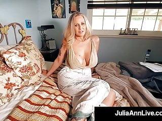 Big black dicks in the world Beautiful world famous milf julia ann gets mega dick drilled