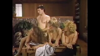 Afternoon FFFM foursome, upscaled to 4K