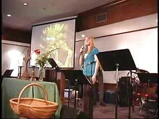 Gay marriage in church Megan singing in church