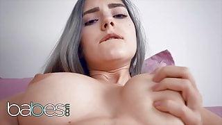 Busty Horny Babe Eva Elfie Masturbates By Herself - Babes