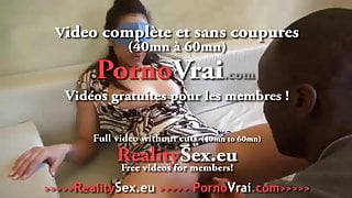 Beurette arab blinded fuck with 3 strangers !!! French amat