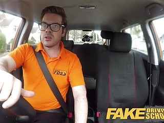 News released on adult learner - Fake driving school busty learner is wet and horny