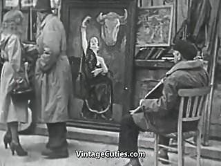 1950s teen girl 3 horny girls in a guys dream 1950s vintage