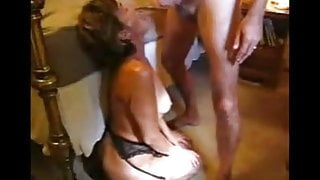 DIRTY wife taking many cumshots