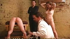 Spanking Teen Jessica, Judicial Birching with Amy