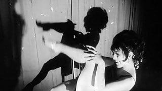 Vintage British sixties striptease 60s stripper