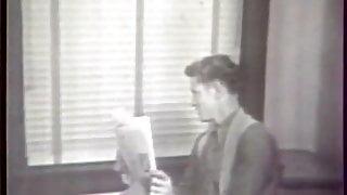 Naughty Secretary gets into Hardcore Foursome (Vintage)