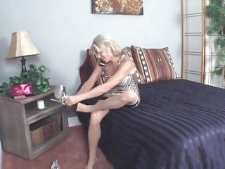 Well endowed peniss Mommys well endowed son cums on her stockings
