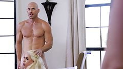 JOHNNY SINS IS GOING TO HAVE SOME FUN WITH THE MAID