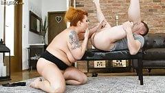 Tammy seduces the young boy next door