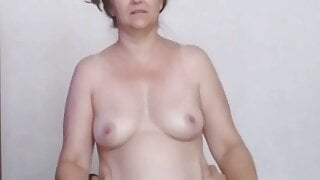 Hot mature wife with hairy pussy homemade private sex tape