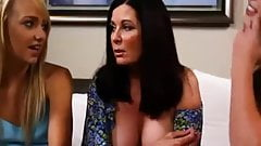 Lesbian Teens Seduce MILF