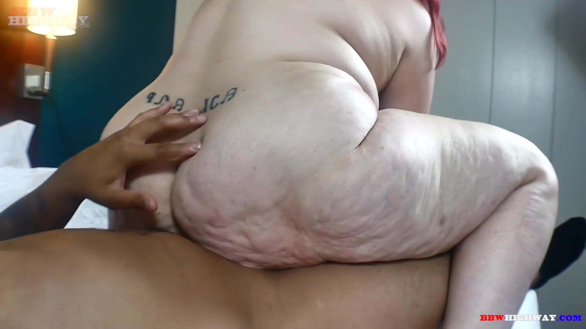 Fat Ass Ride White Cock