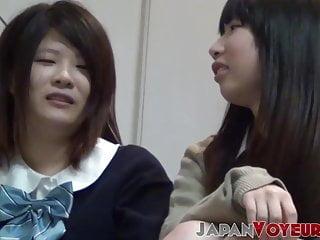 Hidden secret granny sex tapes Japanese girls filmed on secret tape in school restroom