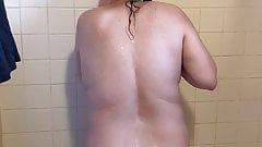 Part 3 of my wife in the shower