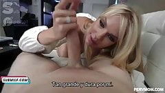 Subtitle stepmom horny cook in mounth