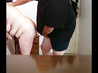 Hairy belly men - Feel her soft tits, belly as i fuck her doggy style
