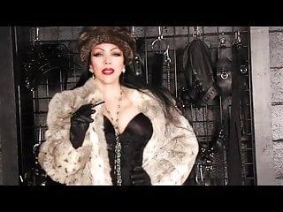 Dick holder A fur smoking holder mistress 1
